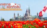 ชม 'เทศกาลดอกทิวลิป' ที่ประเทศแคนาดา พร้อมบอกประวัติความเป็นมาสุดเหลือเชื่อ