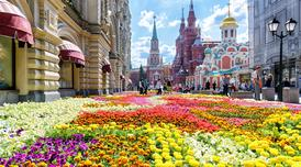 ทัวร์รัสเซีย มอสโคว์ เซนต์ปีเตอร์สเบิร์ก 7 วัน 5 คืน เทศกาลดอกไม้มอสโคว ล่องเรือแม่น้ำเนวา บิน TG
