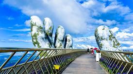 ทัวร์เวียดนามกลาง ดานัง ฮอยอัน เว้ 4 วัน 3 คืน หาดหมีเคว บานาฮิลล์ สะพานสีทอง บิน VZ