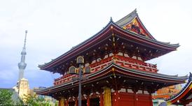 ทัวร์ญี่ปุ่น โตเกียว 4 วัน 3 คืน ภูเขาไฟฟูจิชั้นที่5 วัดอาซากุสะ บิน JL