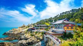 ทัวร์เกาหลี ปูซาน 5 วัน 3 คืน สวนสนุกอีเวิล์ด วัดแฮดงยงกุงซา หมู่บ้านวัฒนธรรมคัมชอน บิน KE