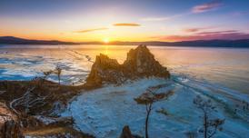 ทัวร์รัสเซีย ไบคาล 6 วัน 5 คืน เกาะโอลค์ฮอน นั่งเรือสะเทินน้ำสะเทินบก ชมพระอาทิตย์ตกดินที่โขดหินชามาน บิน S7