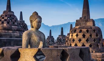 ทัวร์อินโดนีเซีย บาหลี 5 วัน 3 คืน มหาเจดีย์บุโรพุทโธ หมู่บ้านคินตามณี บิน FD