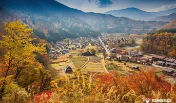ทัวร์ญี่ปุ่น นาโกย่า ทาคายาม่า โตเกียว 6 วัน 4 คืน หมู่บ้านชิราคาวาโกะ นั่งกระเช้าชินโฮทากะ บิน TG