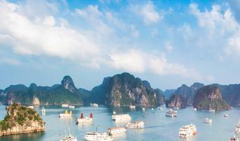 ทัวร์เวียดนามเหนือ ฮานอย ฮาลอง นิงห์บิงห์ 3 วัน 2 คืน ฮาลองปาร์ค ล่องเรือจ่างอาน บิน FD