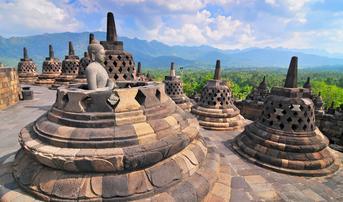 ทัวร์อินโดนีเซีย บาหลี 5 วัน 3 บุโรพุทโธ ประตูสวรรค์ฮันดารา บาหลีสวิงค์ บิน FD