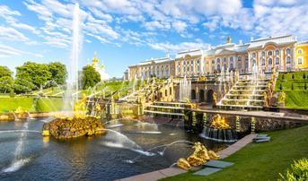ทัวร์รัสเซีย มอสโคว์ ซาร์กอร์ส เซนต์ปีเตอร์สเบิร์ก 9 วัน 7 คืน พระราชวังฤดูร้อน จัตุรัสแดง ล่องเรือแม่น้ำมอสคาว่า บิน TG