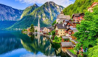 ทัวร์ยุโรป ออสเตรีย ฮังการี สโลวาเกีย เชค เยอรมนี 10 วัน 7 คืน ปราสาทนอยชวานสไตน์ หมู่บ้านฮัลสตัทท์ บิน TG