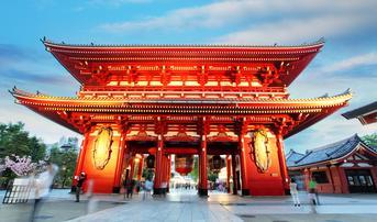ทัวร์ญี่ปุ่น โตเกียว โอซาก้า 6 วัน 4 คืน วัดอาซะกุสะ ปราสาทโอซาก้า บิน TG