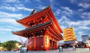 ทัวร์ญี่ปุ่น โตเกียว 5 วัน 3 คืน ภูเขาไฟฟูจิ วัดอาซากุสะ ชมดอกชิบะซากุระ บิน XJ