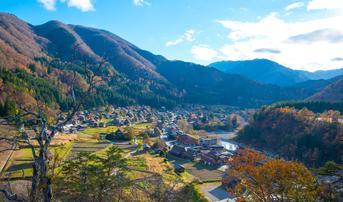 ทัวร์ญี่ปุ่น ทาคายาม่า เกียวโต โอซาก้า 6 วัน 4 คืน หมู่บ้านชิราคาวาโกะ นาบานาโนะซาโตะ บิน TG