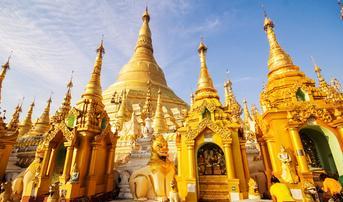 ทัวร์พม่า ย่างกุ้ง หงสา 2 วัน 1 คืน พระมหาเจดีย์ชเวดากอง พระพุทธไสยาสน์เจาทัตยี บิน FD