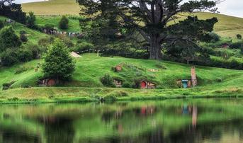 ทัวร์นิวซีแลนด์ ออคแลนด์ 6 วัน 3 คืน หมู่บ้านฮอบบิท ทะเลสาบเทาโป บิน MH
