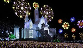 ทัวร์ญี่ปุ่น โตเกียว 5 วัน 3 คืน หมู่บ้านโออุจิจูคุ งานประดับไฟ ณ สวนดอกไม้อาชิคางะ บิน TG