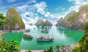 ทัวร์เวียดนามเหนือ ฮานอย ฮาลอง 3 วัน 2 คืน อ่าวฮาลอง ถ้ำนางฟ้า บิน TG