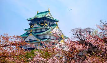 ทัวร์ญี่ปุ่น เกียวโต ทาคายาม่า โอซาก้า 5 วัน 3 คืน หมู่บ้านชิราคาวาโกะ ชมซากุระรอบปราสาทโอซาก้า บิน XJ