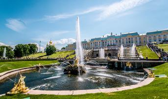 ทัวร์รัสเซีย มอสโคว์ เซนต์ปีเตอร์สเบิร์ก 8 วัน 5 คืน จตุรัสแดง พระราชวังปีเตอร์ฮอฟ ล่องเรือแม่น้ำมอสโคว์ บิน VN