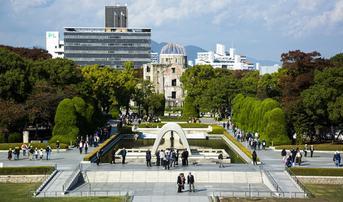 ทัวร์ญี่ปุ่น ฟุกุโอกะ ฮิโรชิม่า 5 วัน 3 คืน ศาลเจ้าโมโตโนสุมิอินาริ บ่อน้ำร้อนจิโกกุ สวนสันติภาพฮิโรชิม่า บิน DD