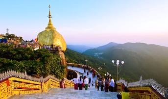 ทัวร์พม่า ย่างกุ้ง หงสา 3 วัน 2 คืน พระราชวังบุเรงนอง พระมหาเจดีย์ชเวดากอง นั่งกระเช้าขึ้นพระธาตุอินทร์แขวน บิน PG