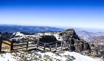 ทัวร์จีน คุนหมิง ตงชวน 4 วัน 3 คืน แผ่นดินสีแดงตงชวน ภูเขาหิมะเจียวจื่อ เล่นสกีที่ SUNAC Snow Park บิน KY