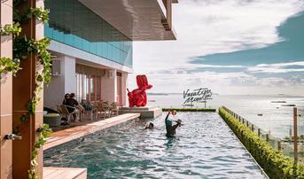 โรงแรม มิตร์ บีช พัทยา  (Mytt Beach Hotel) ราคา 4,199 บาท ฟรี! เครื่องดื่มเอ็กซ์คลูซีฟ ณ ห้องอาหาร Pippa (เฉลี่ยราคา 2,100 บาท/ท่าน)