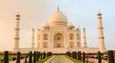 ทัวร์อินเดีย ชัยปุระ อัครา เดลี 5 วัน 3 คืน ทัชมาฮาล นั่งรถจิ๊บชมพระราชวังแอมเบอร์ฟอร์ด บิน TG