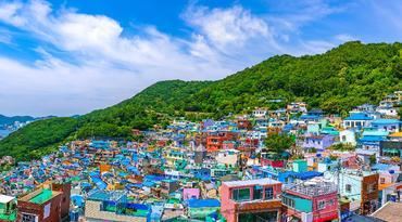 ทัวร์เกาหลี ปูซาน 5 วัน 3 คืน วัดดงฮวาซา สวนสนุก E-world หมู่บ้านวัฒนธรรมคัมชอน บิน LJ