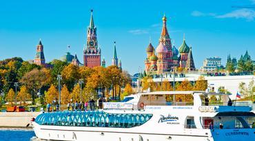 ทัวร์รัสเซีย มอสโคว์ ซาร์กอร์ส 5 วัน 3 คืน จัตุรัสแดง ล่องเรือแม่น้ำมอสโคว์ บิน WY
