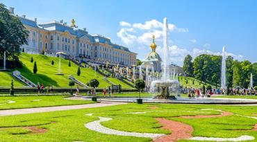 ทัวร์รัสเซีย มอสโคว์ เซนต์ปีเตอร์เบิร์ก 8 วัน 6 คืน พระราชวังเปโตรวาเรส ล่องเรือรับประทานอาหารค่ำแม่น้ำมอสคาว่า บิน TG