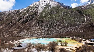 ทัวร์จีน เฉิงตู จิ่วจ้ายโกว 5 วัน 3 คืน อุทยานจิ่วจ้ายโกว อุทยานแห่งชาติหวงหลง ศูนย์วิจัยหมีแพนด้า บิน MU