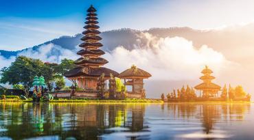 ทัวร์อินโดนีเซีย บาหลี 4 วัน 3 คืน วัดอุลันดานู วิหารทานาล็อท ประตูสวรรค์ฮันดารา บิน TG