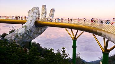 ทัวร์เวียดนามกลาง เว้ ดานัง ฮอยอัน 4 วัน 3 คืน บานาฮิลล์ สะพานทอง บิน VZ
