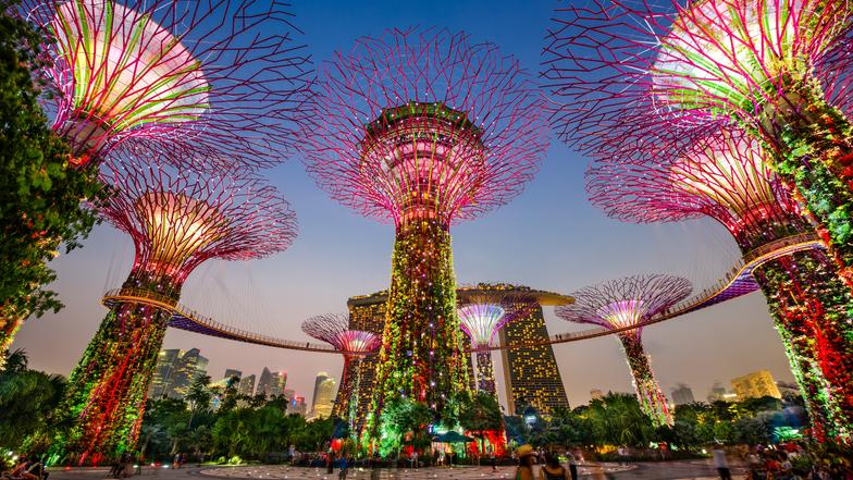 ทัวร์สิงคโปร์ 3 วัน 2 คืน สวนการ์เด้นบายเดอะเบย์ น้ำพุแห่งความมั่งคั่ง บิน Singapore Airlines